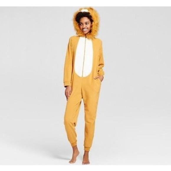 Xhilaration Other - Cool Women's Lion Union Suit - Xhilaration L